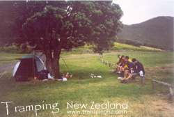 Campsite at Tapotupotu Bay