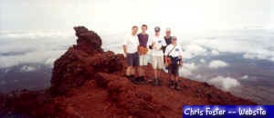 Some of us at the top of Mt.Ngauruhoe