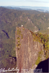 A part of the Pinnacles Peak