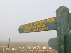 Signpost to West Coast